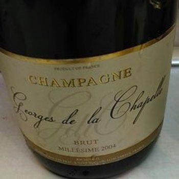 George Chapelle Georges de la Chapelle Brut-Champagne-2004  Champagne-France