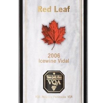Pillitteri Pillitteri Red Leaf Vidal-Icewine-2013  Canada  375ml