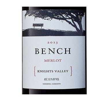 Bench Bench Knights Valley Merlot 2015 Sonoma, California
