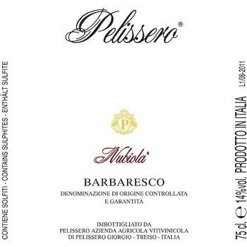 Pelissero Pelissero Nubiola-Barbaresco-2011-Piedmont, Italy