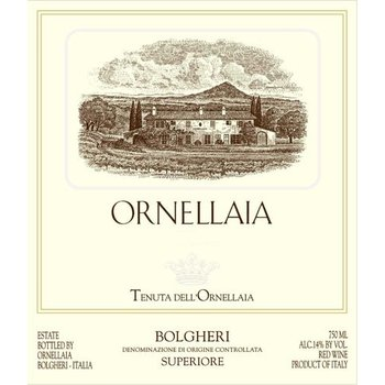 Ornellaia Ornellaia Bolgheri Ornellaia Superiore 2011  375ml  <br /> Tuscany, Italy  96pts-AG, JS, WS  94pts-WE