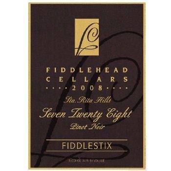 "FiddleHead Cellars FiddleHead Cellars Fiddlestix ""728' Pinot Noir 2012 <br /> Sta. Rita Hills, California<br /> 91pts-WE"