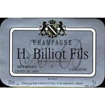 Henri Billiot Henri Billiot Brut Reserve Champagne Non-Vintage<br />92 pts., WA 91 pts., ST 90 pts.<br />Champagne, France