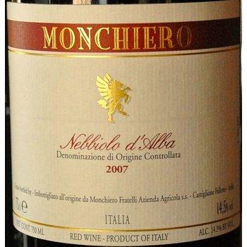 Monchiero Monchiero Nebbiolo d&#039;Alba 2014<br />Piedmont, Italy