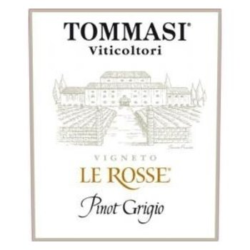 Tommasi Tommasi Le Rosse Pinot Grigio 2017<br />Italy