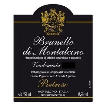 Pietroso Pietroso Brunello di Montalcino-Vendemmia 2010  Tuscany, Italy<br /><br />Tuscany, Italy