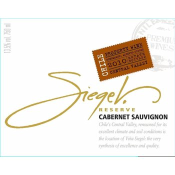 Siegel Siegel Reserve Cabernet Sauvignon 2015<br />Colchagua Valley, Chile