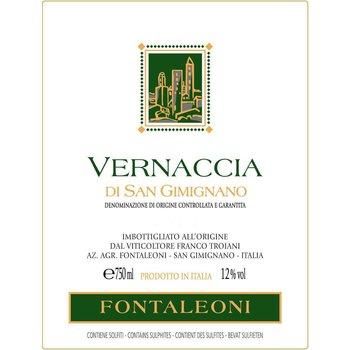 Fontaleoni Fontaleoni Vernaccia 2014<br />Tuscany, Italy