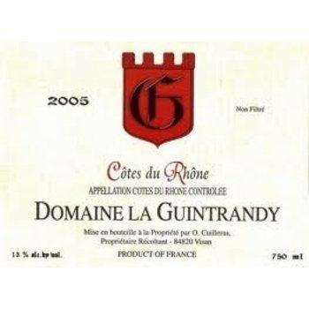 Dm Guintrandy Domaine La Guintrandy Cote-Du-Rhone Rouge 2012<br />Rhone, France