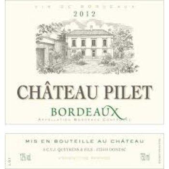 Ch Pilet Ch Pilet Blanc 2014<br />Bordeaux, France