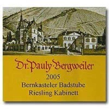 Bergweiler Dr Pauly Bergweiler Bernkasteler Badstube Riesling Kabinett 2013<br />Germany