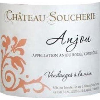 Ch Soucherie Ch Soucherie Anjou Rouge 2010<br />Loire Valley, France