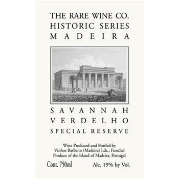 Rare Wine Co The Rare Wine Company Historic Madeira Series Savannah Verdelho Special Reserve<br />