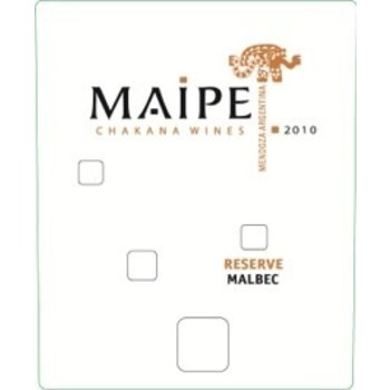 Maipe Chakana Wines Maipe Reserve Cabernet Sauvignon 2012<br />Mendoza, Argentina<br />91pts-RP