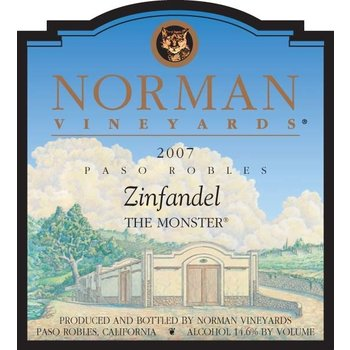 Norman Vineyards Norman Vineyards Monster Zinfandel 2009<br />
