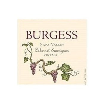 Burgess Burgess Cabernet Savignon 2013<br />Napa, California