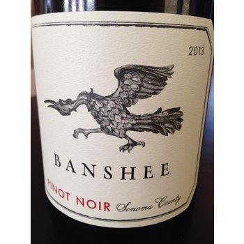Banshee Banshee Sonoma County Pinot Noir-2014  California