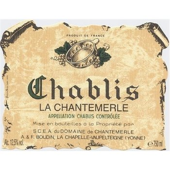 Boudin Boudin Chablis Chantemerle 2015<br />