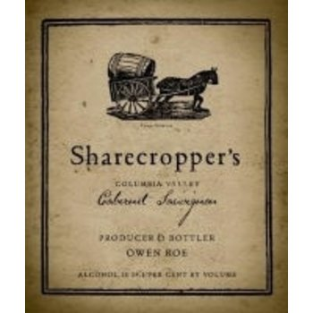 Owen Roe Owen Roe Sharecroppers Cabernet 2014    Washington