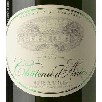 Ch d&#039;Anice Graves Blanc 2015 <br /> Bordeaux, France