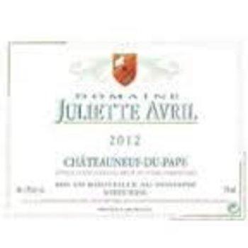 Dm Juliette Avril Domaine Juliette Avril Chateauneuf-Du-Pape Blanc 2015<br />Rhone, France