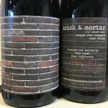 Brick &amp; Mortar Cougar Rock Vineyard Pinot Noir 2013<br /> Napa, California