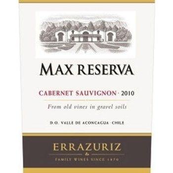 Errazuriz Errazuriz Max Reserva Cabernet Savignon 2015<br />Chile  90pts