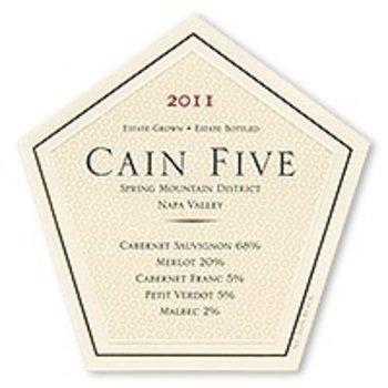 Cain Cain Five Cabernet Blend 2012<br />California