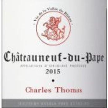 Charles Thomas Charles Thomas Chateauneuf-du-Pape 2015<br /> Rhone, France