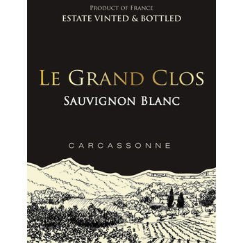 Le Grand Clos Le Grand Clos Savignon Blanc 2015   <br /> Carcassonne, France