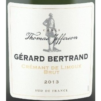 Bertrand Gerard Bertrand CUVEE THOMAS JEFFERSON CREMANT DE LIMOUX BRUT 2013  France