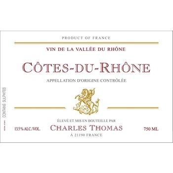 Charles Thomas Charles Thomas Cote-Du-Rhone 2016<br />Rhone, France