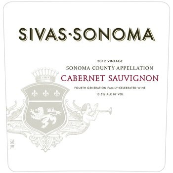Sivas-Sonoma Sivas-Sonoma Cabernet Sauvignon 2014  <br /> Sonoma, California