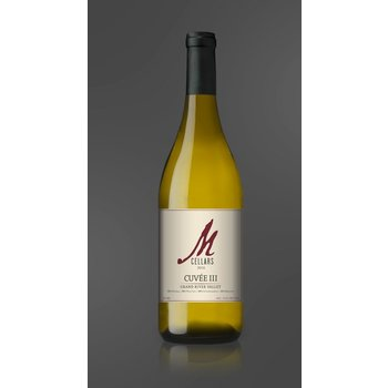 M Cellars M Cellars Cuvee 111 Grand River Valley White Blend 2016<br /> Geneva, Ohio