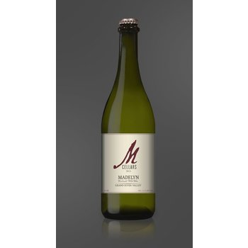 "M Cellars M Cellars Grand River Valley ""Madelyn"" Carbonated White Wine 2015<br /> Geneva, Ohio"