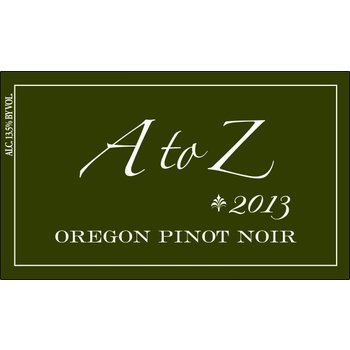 A to Z A to Z Pinot Noir 2014<br />