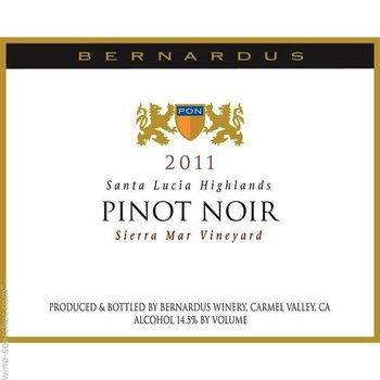 Bernardus Bernardus Santa Lucia Highlands Pinot Noir 2013