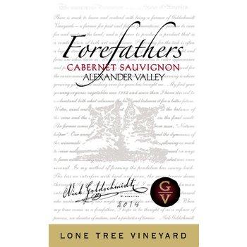 Goldschmidt Vineyard Goldschmidt Vineyard Forefathers Lone Tree Vineyard Cabernet Sauvignon 2014<br />Alexander Valley,  California