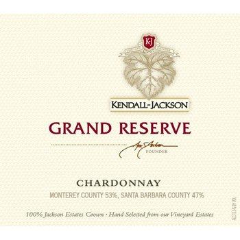 Kendall Jackson Kendall-Jackson Grand Reserve Chardonnay 2015<br /> Monterey and Santa Barbara, California<br /> 90pts-WA &amp; WE