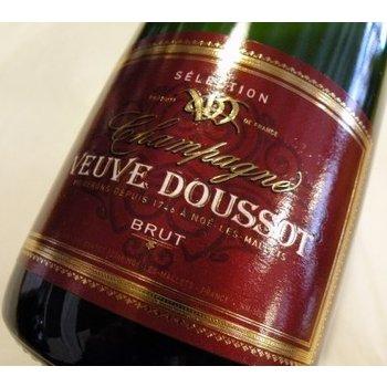 Veuve Clicqout Veuve Doussot Brut Selection Champagne<br /> Champagne, France