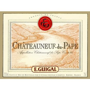 Guigal E. Guigal Chateauneuf-Du-Pape 2012<br /> Rhone, France  <br /> 92pts