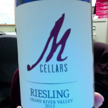 M Cellars M Cellars Grand River Riesling 2016<br /> Geneva, Ohio