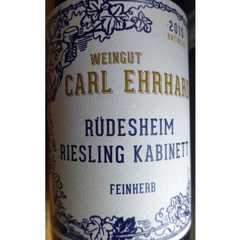 Carl Ehrhard Carl Ehrhard Rudesheimer Riesling Kabinett Feinherb 2016<br /> Rheingau, Germany