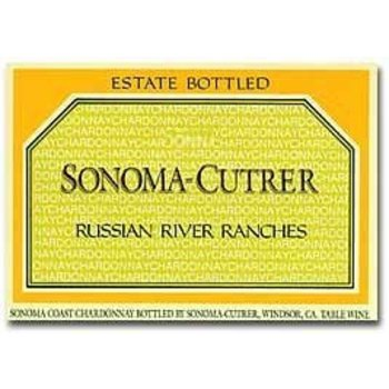 Sonoma Cutrer Sonoma Cutrer Russian River Ranches Chardonnay 2015 <br /> 375ML Half Bottle<br /> Russian River, California