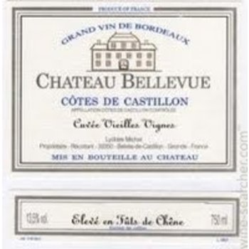 Ch Bellevue Ch Bellevue Cuvee Vieilles Vignes 2014  <br /> Bordeaux, France