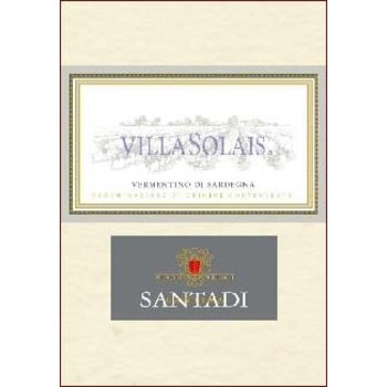 Santadi Cantina Santadi Villa Solais Vermentino Di Sardegna 2016<br /> Italy