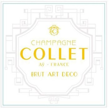 Champagne Collet Brut Art Deco<br /> Champagne, France<br /> 91pts-WS, 90pts-WE