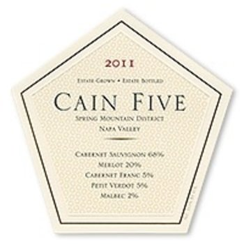 Cain Cain Five Cabernet Blend 2013<br />