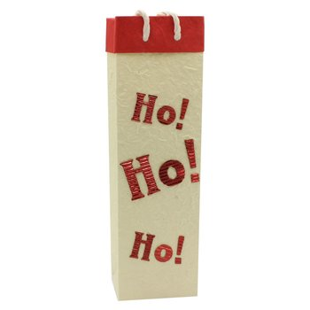 Bella Vita Ho! Ho! Ho! Single Bottle Wine Bag