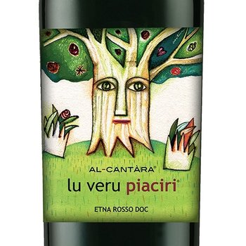 "Al-Cantàra ""Lu Veru Piaciri"" Etna Rosso 2014 <br /> Sicily, Italy"
